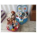 Toy Dolls, Small Toy Crib, Baby Bouncer