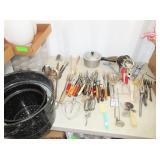 Kitchen Utensils and Granite Ware