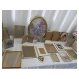 Assorted Gold Colored Frames