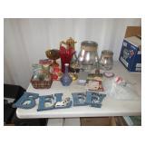 Decor, Vases, Fondue Set and More