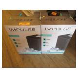 2) Impulse Portable Wireless Speakers