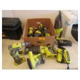 Various Ryobi Power Tools (No Battery)