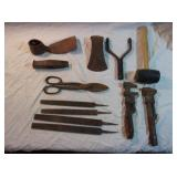 Pipe Wrenches, Axe Heads, Files and More