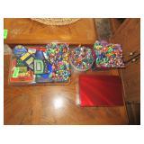 Electronic Handheld Games, Gel Pens, Crayons