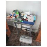 Assorted Household/Knick Knack Items, Table,