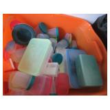 Plastic Containers And Beads for Necklaces