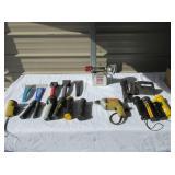 Flashlights, Windshield Scrapers, 1/4 Drill