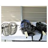 Plastic Snowshoes With Bindings, Camping Backpacks