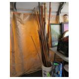 Assorted Curtain Rods