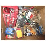 Shears, Socket Wrench, Sockets, Tape Measure,