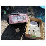 Jamestown China Cups, Saucers, Mason Jars,