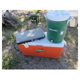 Beverage Dispenser, Camp Stove, Cooler