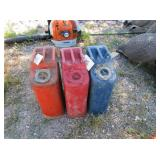 3) Metal Gas Cans