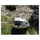Cart, Weed and Grass Killer, Plant Food