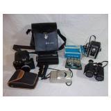 Vintage Cameras and Binoculars