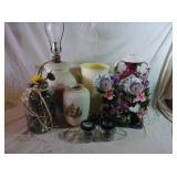 Lamp, Vases, Decor