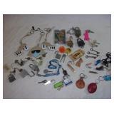 Locks, Keys, Fobs, Whistles