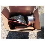 Electric Wok, Cooking Pots, Tray,