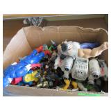 Assorted Action Figurines, Toys, Animals