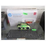 Insignia Keyboard, IHome2Go, HP Deskjet 1112