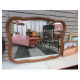 "Vintage Wall Mirror 40"" x 31"""