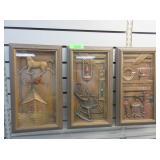 3) Turner Wall Accessories