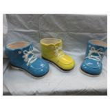 """3) """"Shoe"""" Planter Pots"""