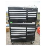 Rolling Tool Box with Contents: Wrenches,