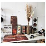 Decorative Artwork, Paintings, Metal Wall Hang,