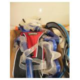 Snorkeling Gear and Camelback Pack