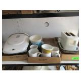 Assorted Mugs, Cups, Measuring Cup,
