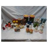 Novelty Salt & Pepper Shaker Collection