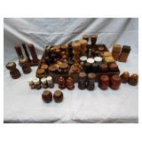 Wooden Salt & Pepper Shaker Collection