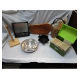 Recipe Box, Bowls, Ice Bucket, More