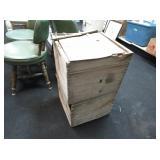 2) Wooden Crates