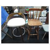 2) Bar Chairs