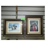 Signed Native American Prints
