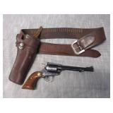 Ruger .22 Cal New Model Single Six w/Holster
