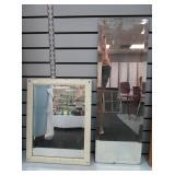 2) Vintage Mirrors