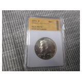 1973-P SGS MS70 Kennedy Half Dollar