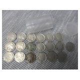 19) Indian Head Buffalo Nickels