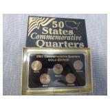 2003 Commemorative Quarters Gold Edition