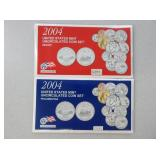 2004D And 2004P U.S. Uncirculated Coin Sets