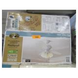 """52"""" Ceiling Fan with Light Fixture"""