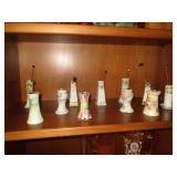 Early 1900s Porcelain Hat Pin Holders