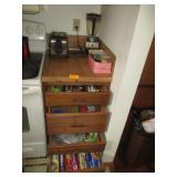 Countertop And Drawer Contents, Toaster, Blender