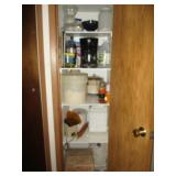 Pantry Contents, Coffee Pot, Bread Machine