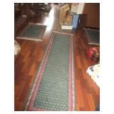 4-Piece Carpet (Runner, Area Rug, 2-Small Rugs)