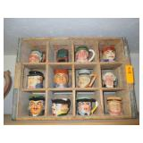 Collectible Toby Mugs