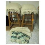 Stools & Blankets